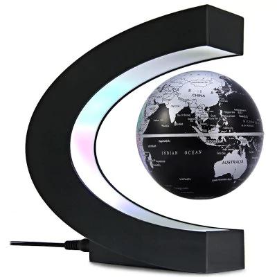 Globe terrestre en lévitation magnétique à LED
