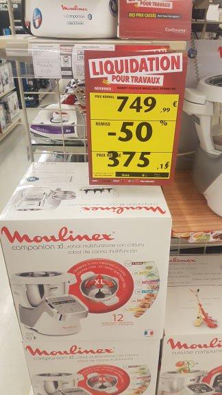 Robot de cuisine Moulinex Companion - HF900100 - St Maximin (60)
