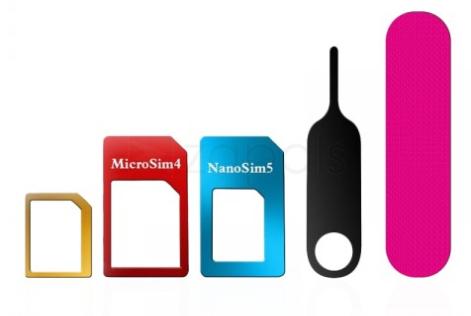 Kit d'adapteurs de carte SIM (livraison incluse)