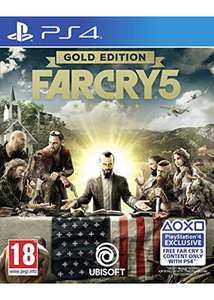 FarCry 5 Gold Edition (avec season pass) sur PS4 ou Xbox One (Langue Russe & Anglaise)