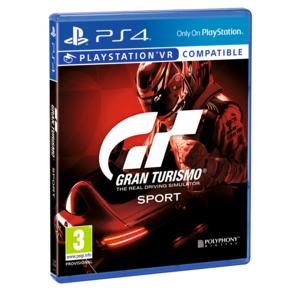 Gran Turismo Sport sur PS4 - compatible VR
