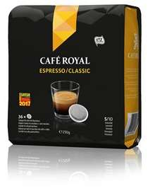 Lot de 2 paquets de Café Espresso Café Royal x36 - 250g - National.