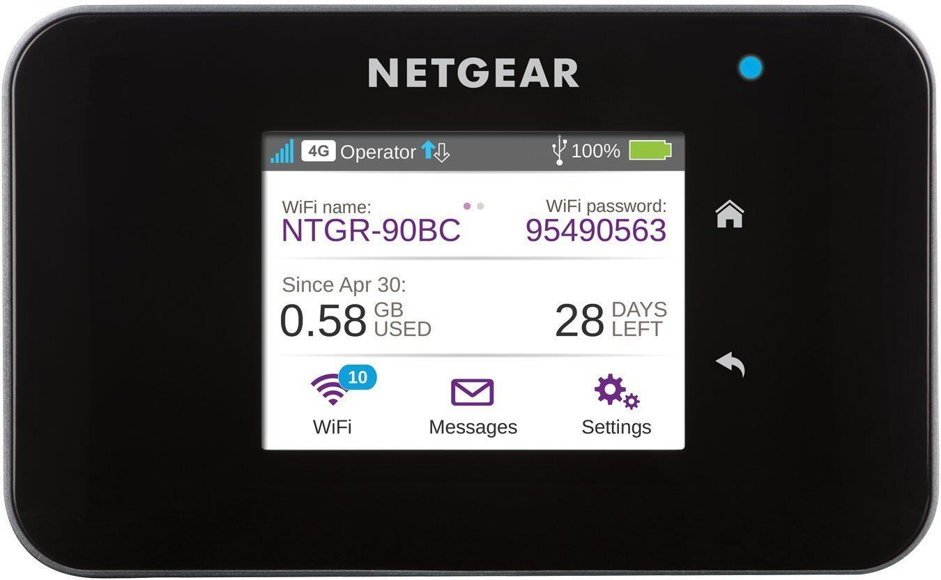 Routeur Mobile Netgear AC810-100EUS - 4G+ LTE - Wi-Fi 1200 Mbps