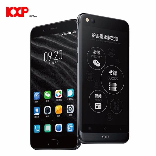 "Smartphone 5.5"" Yota Yotaphone 3 - Double écran (e-Ink), Processeur Octacore - 64Go de ROM - 4Go de RAM"