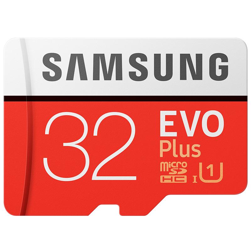 Carte Mémoire MicroSD Samsung Evo Plus - 32 Go - Classe 10