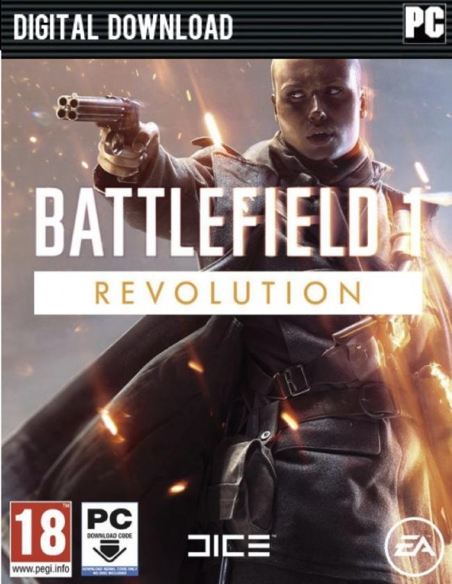 Battlefield 1 Revolution sur PC + Premium Pass + 4 DLCs Packs (Dématérialisé - Origin)