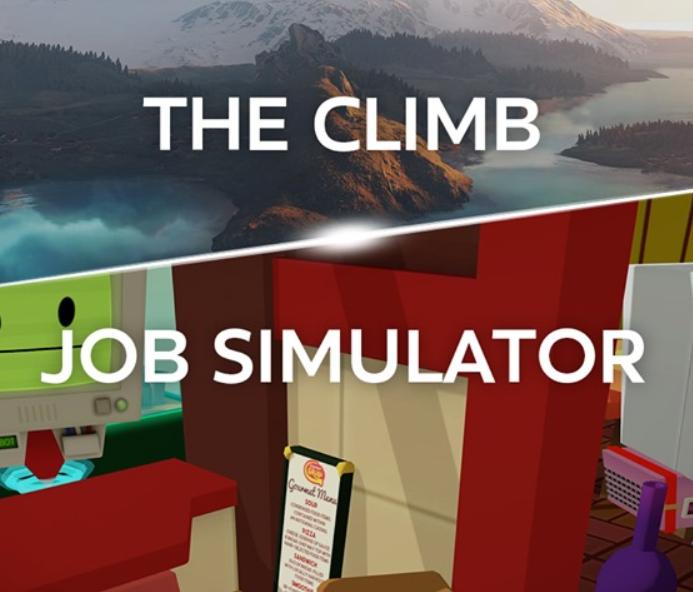 [Oculus Rift] The Climb + Job Simulator (Dématérialisé)