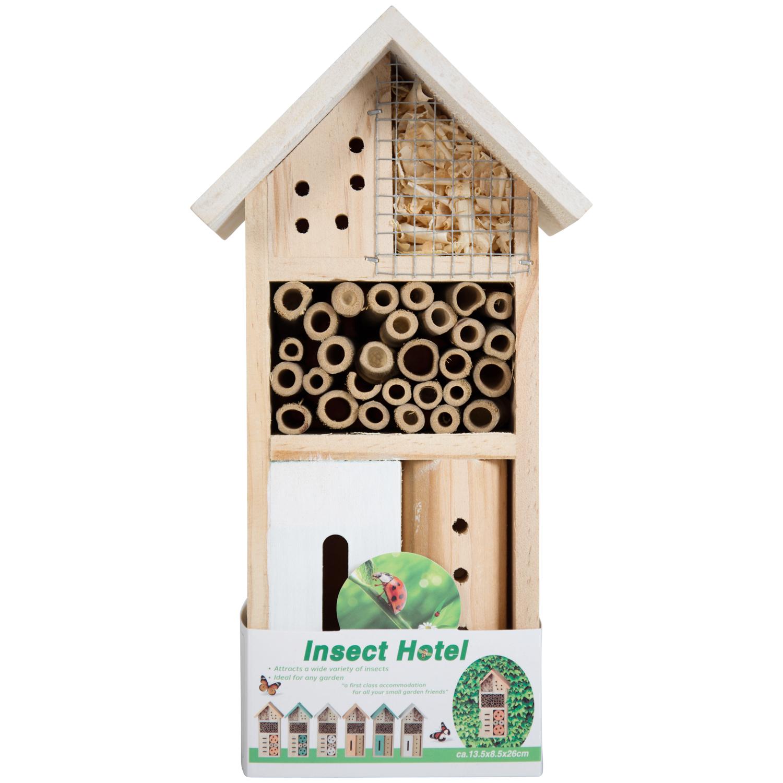 Sélection d'Hôtels à Insectes - Ex: 13 x 8 x 26cm