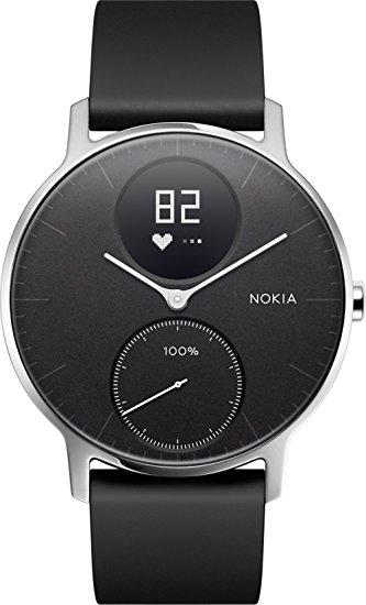 Montre Connectée Nokia Steel HR 40MM Noir (via ODR 50€)