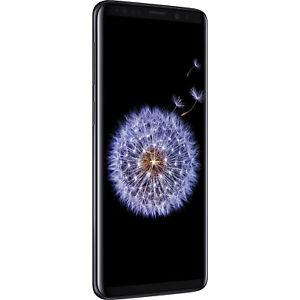 """Smartphone 5.8"""" Samsung Galaxy S9 -Dual SIM, 64Go, 4Go de Ram, Midnight Black (Entrepôt UE)"""