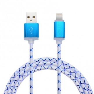 Cable USB Ligthning 1M - Coloris Aléatoire (Frais de port Inclus)