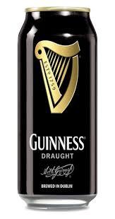 Lot de 4 bières Guinness Draught 50 cl (via l'Application Casino Max)