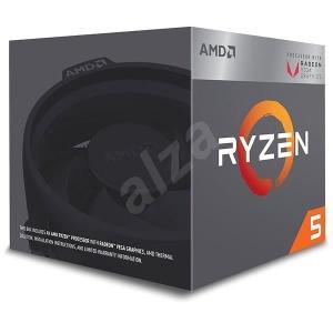 Processeur AMD Ryzen 5-2400G - 3.6 GHz, socket AM4 (134.99€ pour les membres CDAV)