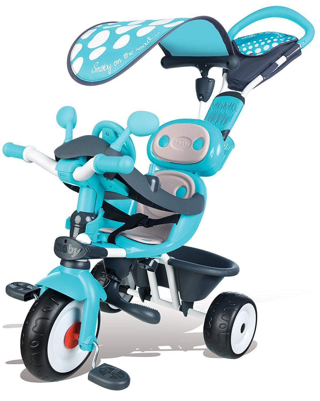 Tricycle évolutif Smoby baby driver - Bleu