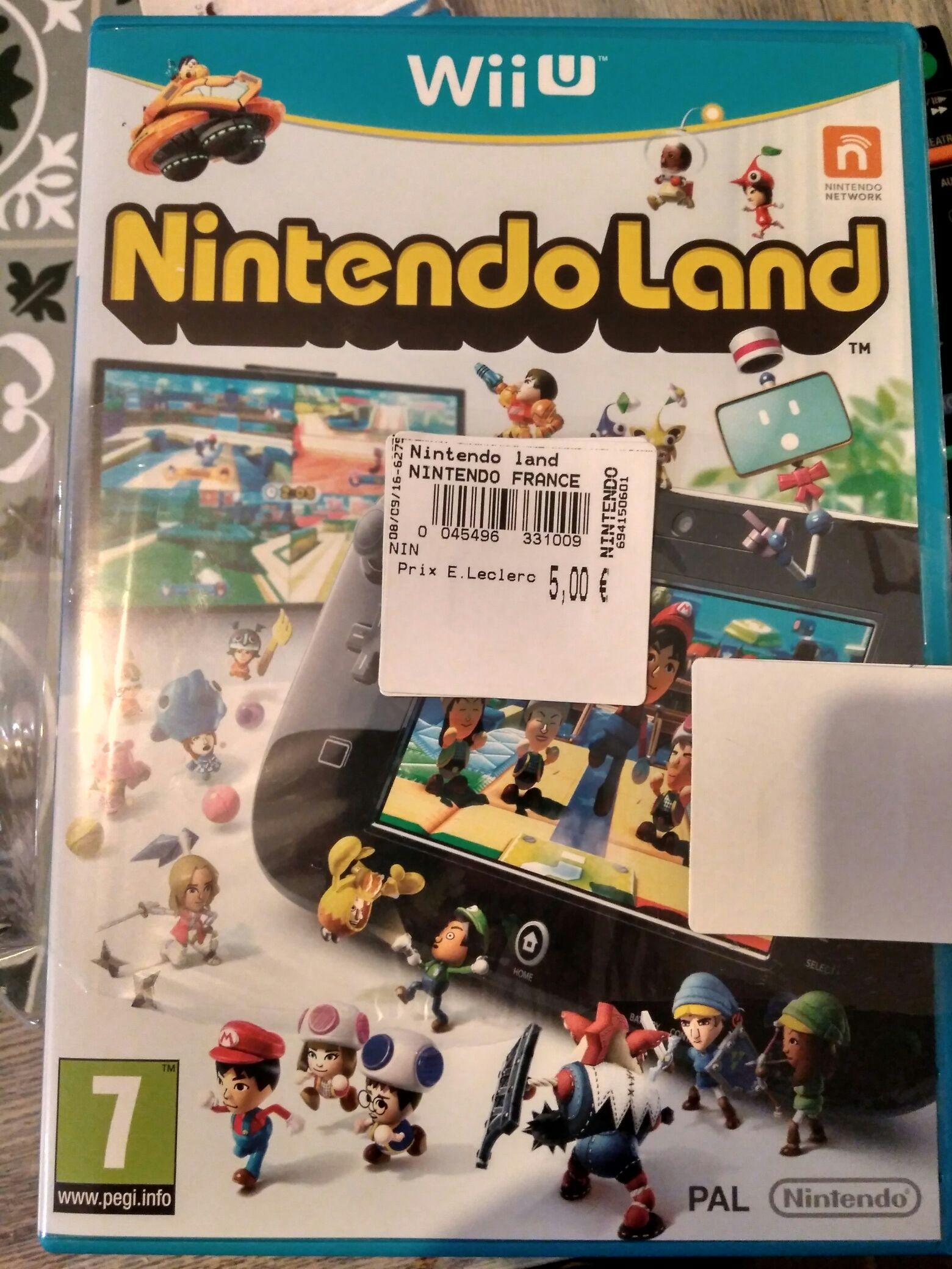 Sélection de produits en Promotion - Ex: Nintendo Land sur Nintendo Wii U à 5€ (Blois (41)