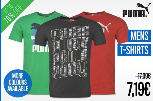 Selection de T-Shirt Puma pour Homme à partir dès
