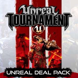 Unreal Deal Pack: Unreal 1 & 2 + Unreal Tournament + Unreal Tournament 2004 + Unreal Tournament 3 sur PC (Dématérialisé - Steam)