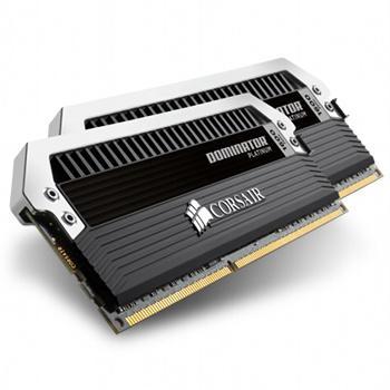 Barrette mémoire Corsair Dominator Platinum 2x8 Go - DDR4, 2400 MHz, CAS 10