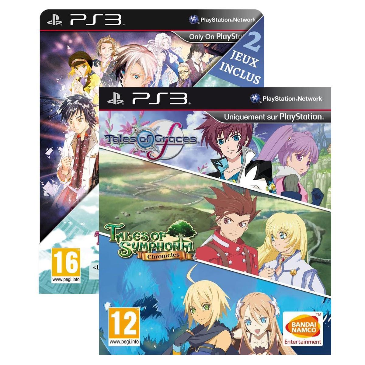Tales of Symphonia Chronicles + Graces F + Tales of Xillia 1 + Xillia 2 sur PS3