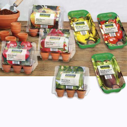 Mini serre de légumes (différentes variétés)