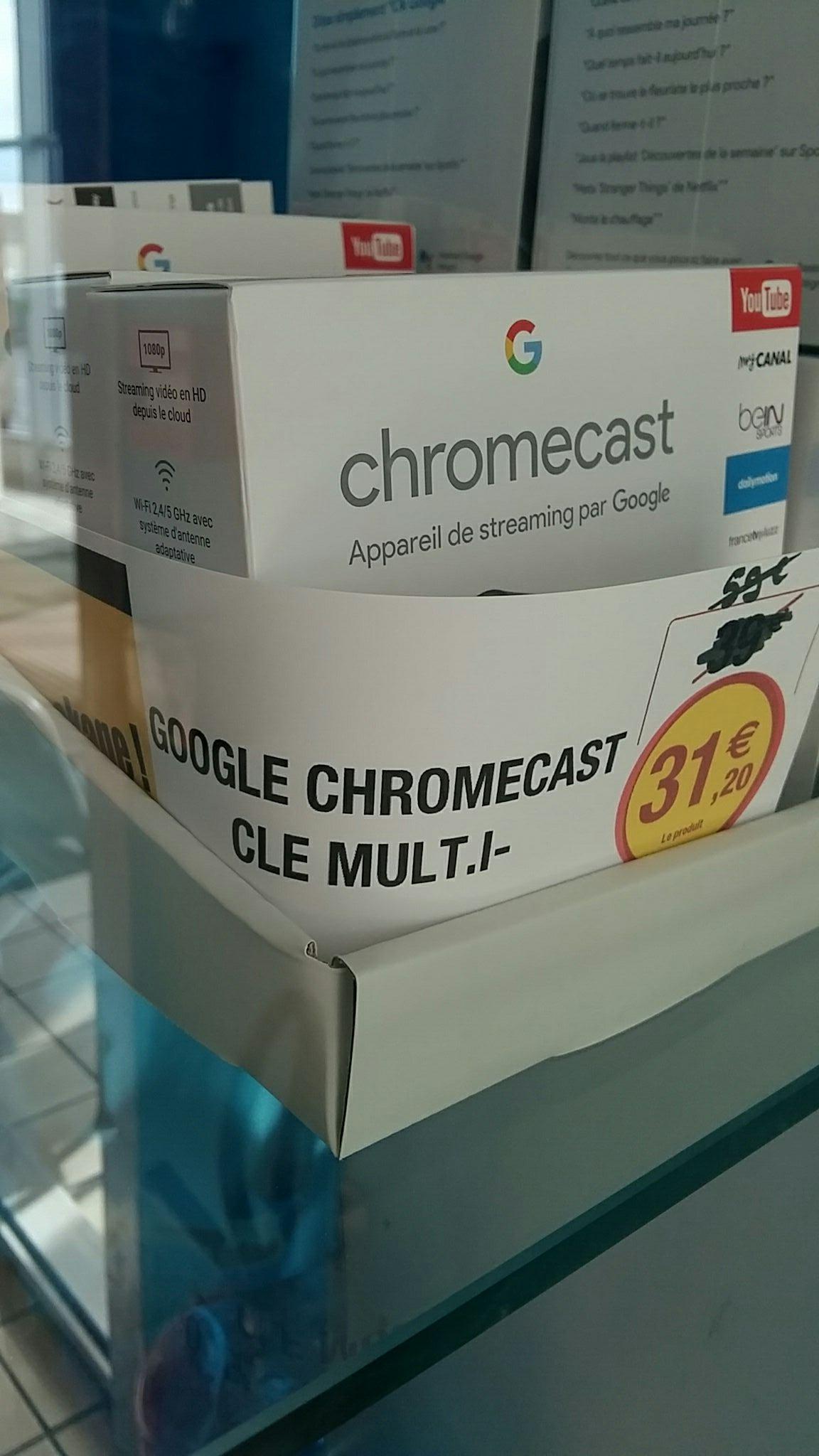 Clé HDMI Google ChromeCast - Super U Bruxerolles (86)