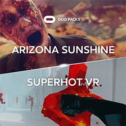 Oculus Duo pack : Sélection de jeux VR en promo - Ex: Arizona Sunshine + Superhot VR (Dématérialisé)