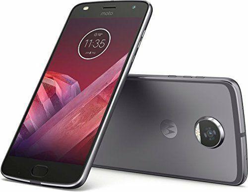 """Smartphone 5.5"""" Motorola Moto Z2 Play Gris - Full HD, Snapdragon 626, RAM 4 Go, ROM 64 Go (vendeur tiers)"""