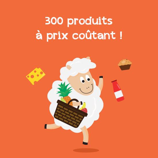 Sélection de 300 produits à prix coûtants - Ex : boisson végétal de riz chez Bio c' Bon Amiens, Dury et Lille (59 / 80)