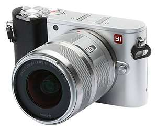 Appareil photo Hybride Yi M1 - 20 Mpix, 4K UHD, IMX269, Wi-Fi + Objectif 12-40mm F3.5-5.6 (Vendeur tiers)