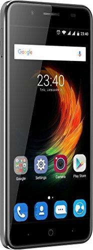 """Smartphone 5.5"""" ZTE Blade A610 Plus Noir ou Gris - RAM 4Go, 32Go"""