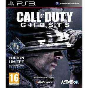 Call of Duty Ghosts Free Fall Limited Edition sur PS3 (inclus la carte multijoueur)