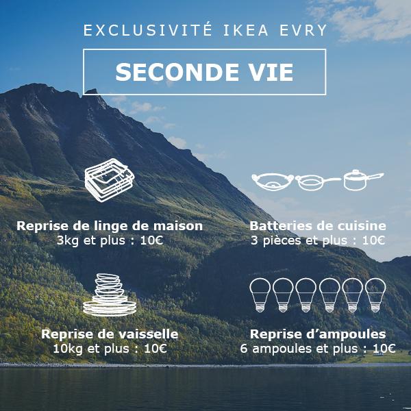 [Membres Ikea Family] Bon d'achat 10 euros en ramenant un équipement de maison - IKEA EVRY