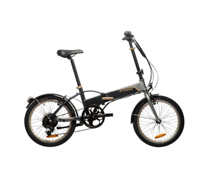 Vélo électrique pliant B'twin Hoptown 500