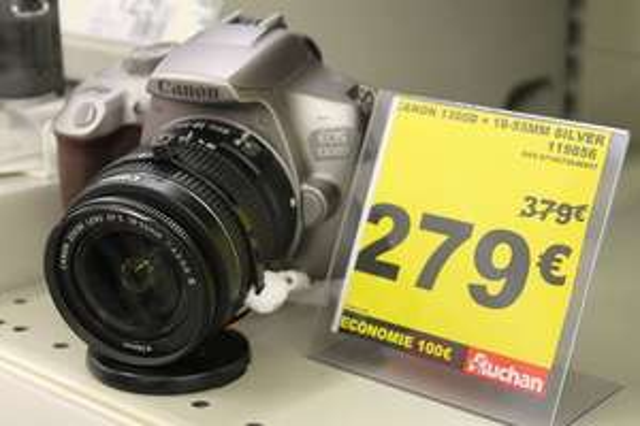 Appareil photo Canon 1300D Silver + objectif 18-55 - Villeneuve-d'Ascq (59)