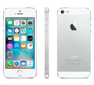 Sélection d'iPhones reconditionnés en promotion - Ex : iPhone 5s reconditionné - 16 GB - Argenté - Grade A+ à 159€
