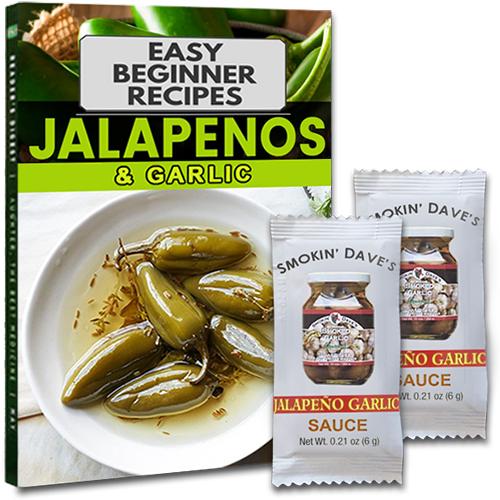 Échantillon gratuit de sauce Jalapeno & Garlic (Piment et Ail)