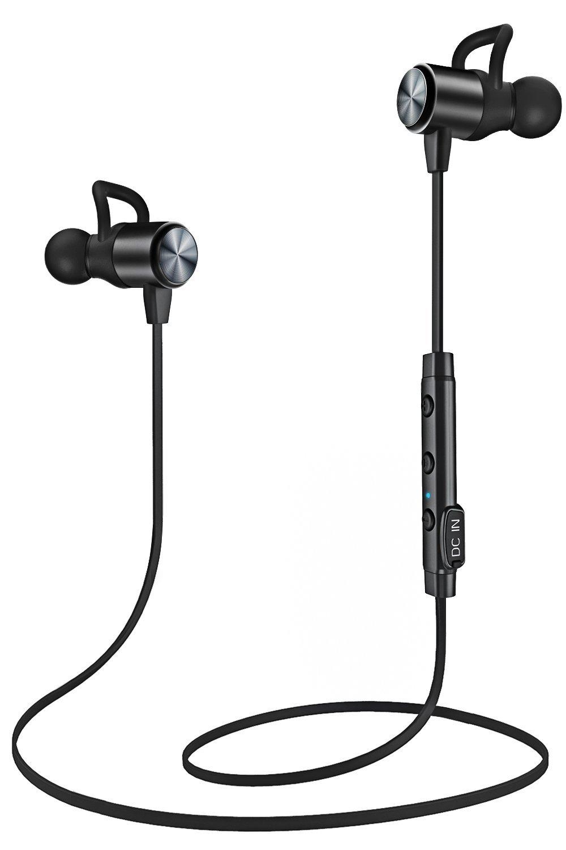 Écouteurs intra-auriculaires sport magnétiques ATGOIN - Bluetooth 4.1, Résistant à la sueur (IPX5), Microphone (Vendeur tiers)