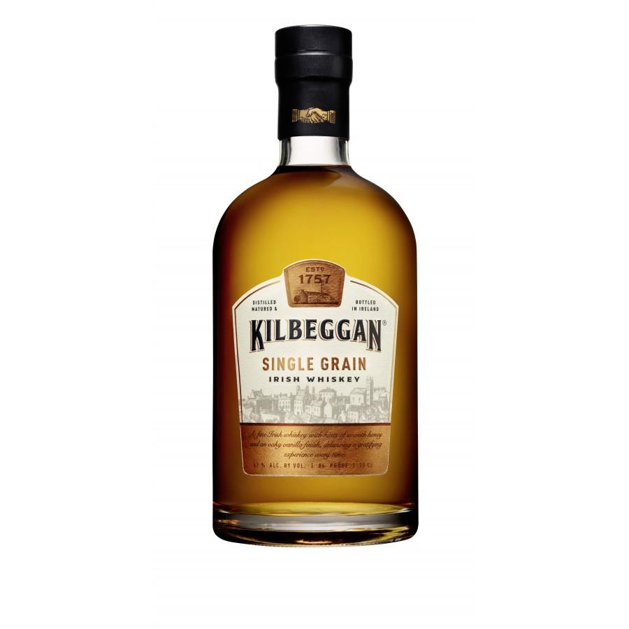 Bouteille de whisky Kilbeggan Single Grain - 70 cl (via 15.98€ sur la carte de fidélité)