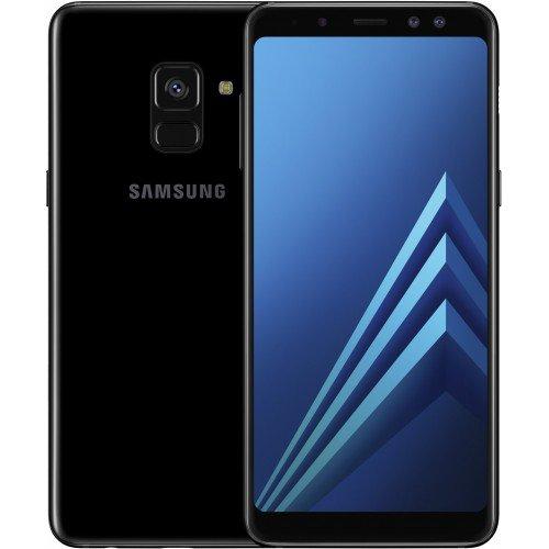 """10% de remise immédiate sur une sélection de smartphones - Ex : Smartphone 5.6"""" Samsung Galaxy A8 (2018) - Full HD+, Double SIM, RAM 4 Go, ROM 32 Go (via reprise de votre ancien téléphone + ODR de 70€)"""