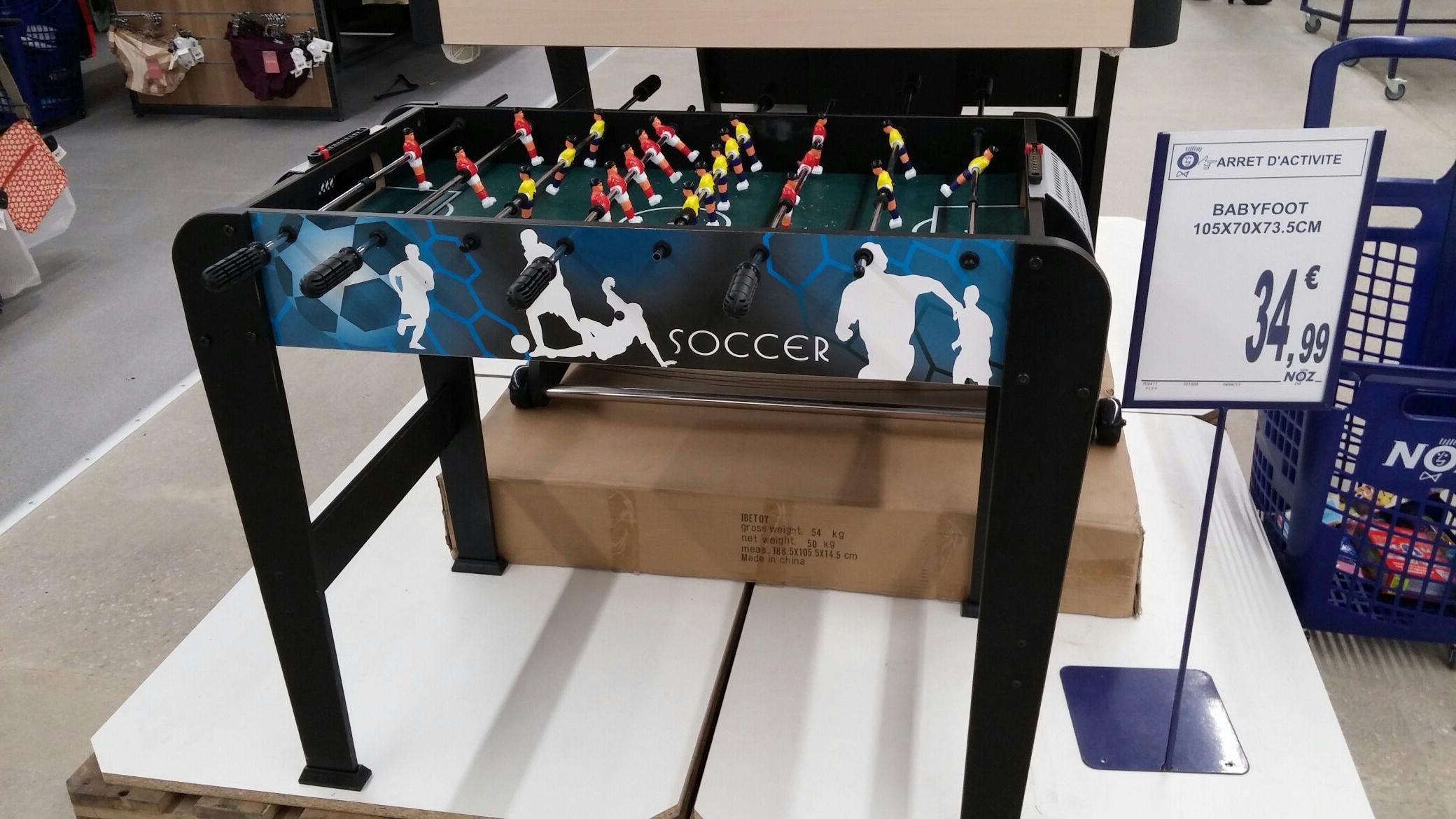 Babyboot Soccer (105x70x73.5 cm) - Chaintré (71)