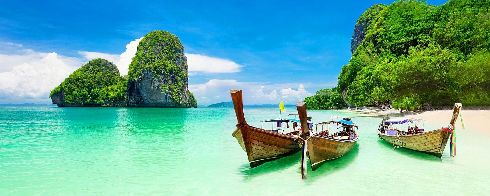 Séjour 14 nuits à Krabi (Thailande) au départ de Londres du 09/04 au 24/04 - pour 2 personnes