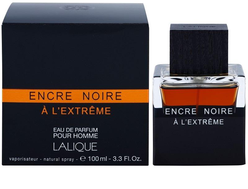 Eau de Parfum Lalique Encre Noire à l' Extrême pour Hommes - 100ml