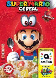 Céréales Nintendo Super Mario avec Bonus Amiibo Super Mario Odyssey (myamericanmarket.com)