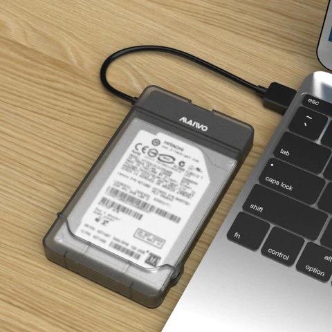 """Boîtier USB 3.0 Maiwo K104 pour Disques Durs Internes 2.5"""""""