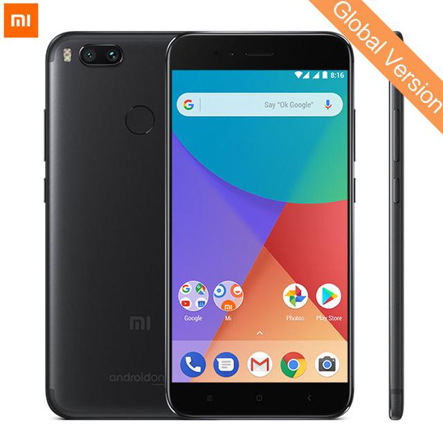 "Smartphone 5,5"" Xiaomi Mi A1 Noir - Global Version (S625, 4Go de RAM, 64Go de ROM) + Carte Mémoire 64 Go"