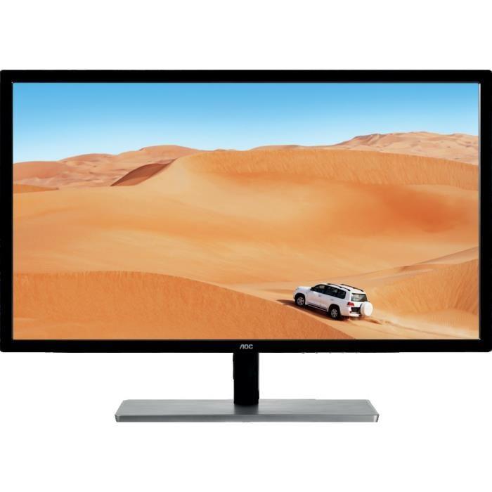 "Écran PC 31.5"" AOC Q3279VWF Freesync - Dalle NVA, 2560 x 1440, 5ms, VGA / HDMI / DVI"