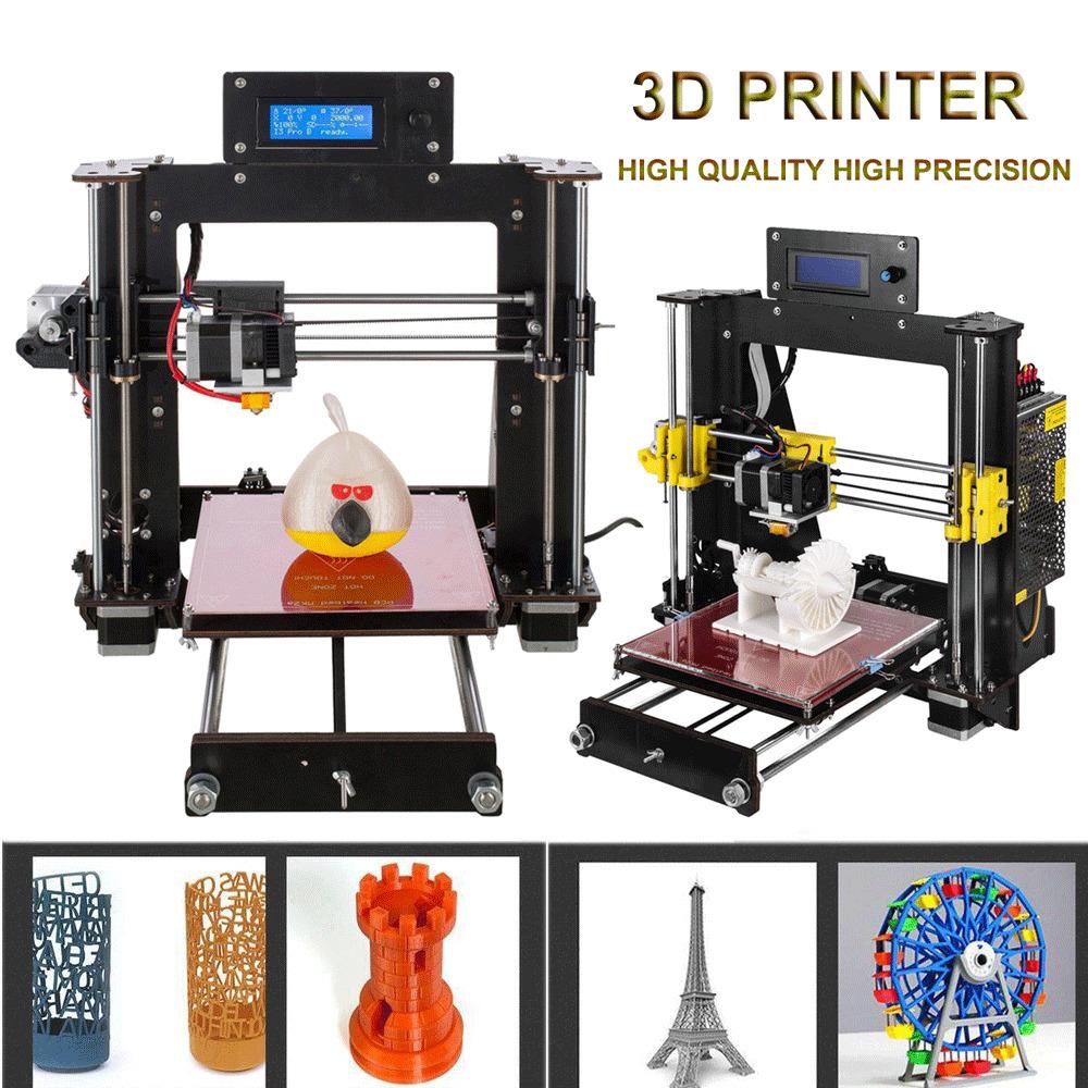 Imprimante 3D CTC A8 eprap prusa I3 MK8 LCD 2018