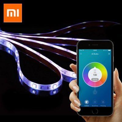 Bandeau LED RGB connecté Xiaomi Yeelight Smart Light Strip - compatible Android / iOS, WiFi (entrepôt FR)