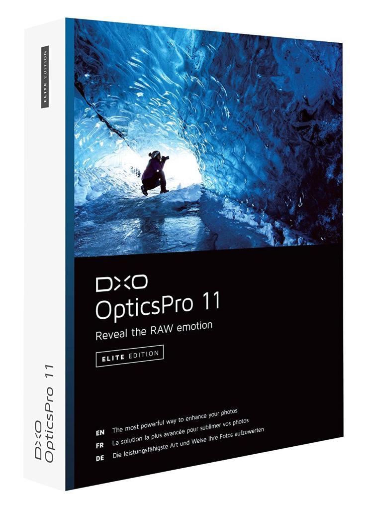 Logiciel DxO OpticsPro 11 Pro Essential gratuit sur PC/Mac (Dématérialisé)