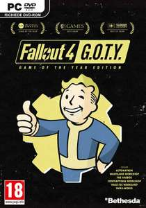 Fallout 4 Game of the Year Edition - Jeu + Season Pass (6 DLCs) sur PC
